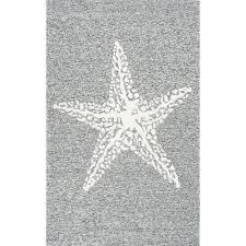 Grey Outdoor Rugs Nuloom Marine Grey 8 Ft X 10 Ft Indoor Outdoor Area Rug Hjair14b