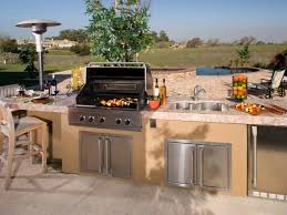bbq outdoor kitchens for perfect time porch and landscape ideas image of outdoor kitchen design ideas pictures tips expert advice hgtv within bbq outdoor kitchens