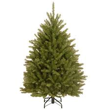 national tree company 4 1 2 ft dunhill fir hinged artificial
