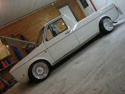 volkswagen caddy pickup white volkswagen caddy on really wide white bbs rm bbs rs zone