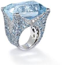 beautiful rings wedding images Beautiful butterfly big blue sapphire silver ring wedding fine jpg