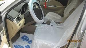 housse plastique siege auto hdpe ldpe en plastique jetables housse de siège pour la voiture