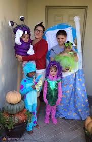 monsters inc costumes diy monsters inc family costume