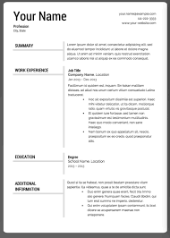 Ut Resume The 17 Best Resume Templates Fairygodboss
