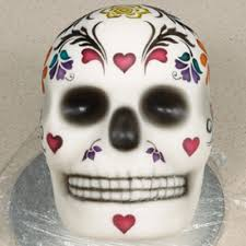day of the dead airbrushed cake tutorial by munro airbrushes com