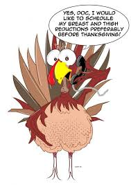 thanksgiving card wording with intelligence turkey