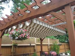 Backyard Shade Canopy by New Options For Outdoor Shading Lifestyles Stltoday Com