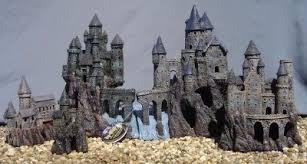 magic castle kingdom set fish tank ornament decoration aquarium