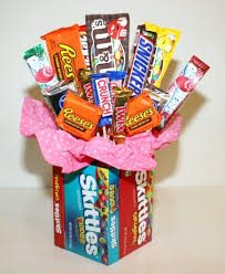 food bouquets how to make a candy bouquet thriftyfun
