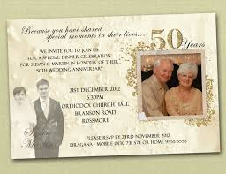 50th wedding anniversary card message 50th wedding anniversary invitation ideas amulette jewelry