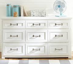 Bedroom Dressers White Belden Wide Dresser Pottery Barn