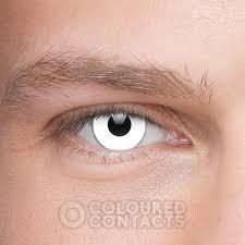 halloween eye lenses halloween coloured prescription white contact lenses zombie eyes
