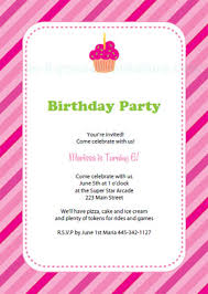2 lovely birthday party invitations templates free printable