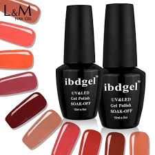 aliexpress com buy 3 bottle ibdgel carnelian color series gel