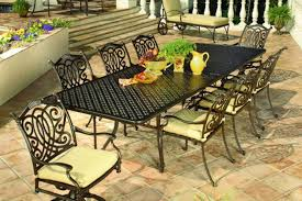 Patio Wrought Iron Furniture by Contemporary Outdoor Design With Mallin Vallejo Patio Furniture