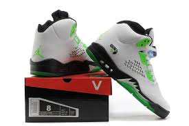 jordan shoes 12 taxi women air jordan 5 v white black green 060