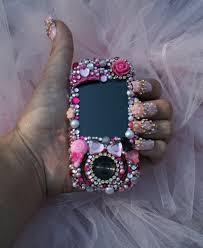 rose in bling nail art nail art gallery