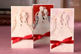 wedding cards for and groom and groom hollow out invitation card wedding invitations