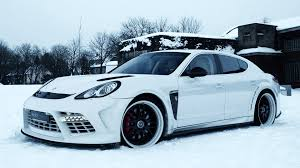 white porsche panamera car porsche panamera snow porsche white cars wallpapers hd