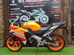 honda cbr 125 price 2016 16 reg honda cbr125 125 r commuter waltham cross motorcycles