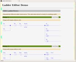 help web based ladder logic demo