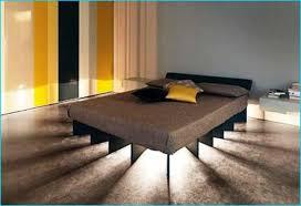 floating bed frame diy homebuilddesigns pinterest floating