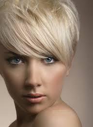blonde short haircuts with bangs newhair