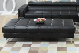 Sofa Warehouse Chester Chester Black Leather Ottoman Steal A Sofa Furniture Outlet Los