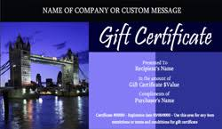 travel gift certificates travel voucher certificate templates