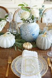 thanksgiving table setting darleen a lifestyle