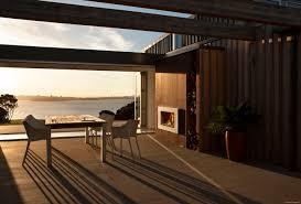 relaxing retreat with escea outdoor fireplace u2013 eboss
