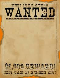 wanted poster web page background 10733