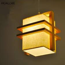 hängeleuchte schlafzimmer koreanische led pendelleuchten hängele holz stoffe 90 265 v