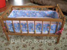 pickup some creativity doll crib bumpers tutorial