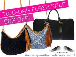 flash sale 50 chance recycled denim handbags ecouterre