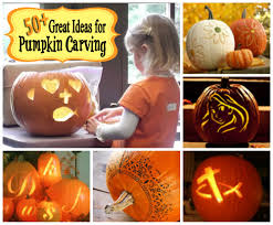 pumpkins and jack o lanterns as a symbol of halloween