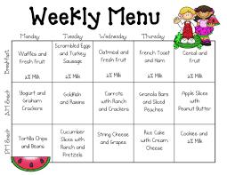 best 25 daycare menu ideas on pinterest toddler menu menu for