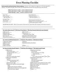 event planning checklist ideas charity run event plan 9 week