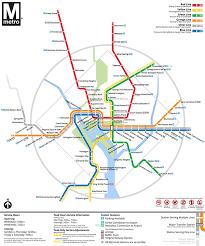 washington subway map washington metro map redesign on behance