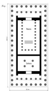 floor plan of the parthenon parthenon wikipedia