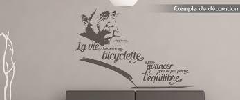 stickers cuisine citation stickers citation albert einstein la vie c est comme une bicyclette
