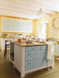 Blue Yellow Kitchen - with white cabinets blue kitchens exitallergy com