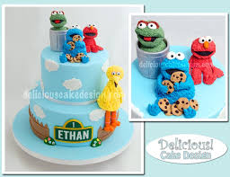 Cookie Monster Baby Shower Decorations Delicious Cake Design Novelty Cake Gallery