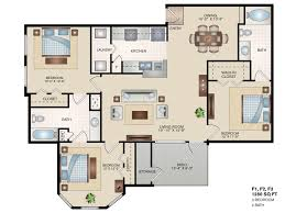3 Bed 2 Bath Floor Plans by Find Your Apartment Home Cienega Linda