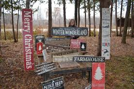 christmas sign collection rustic 1