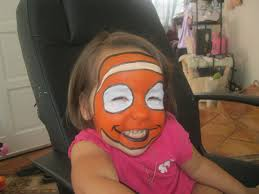 Finding Nemo Halloween Costumes Finding Nemo Face Painting Sharks U0026 Fish Finding