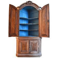 corner cabinet bookcase 18th century dutch walnut corner cabinet for sale at 1stdibs