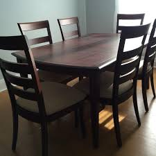 Oak Dining Tables For Sale Best Shermag Oak Dining Room Table And 8 Chairs For Sale In