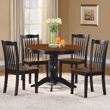 Antique Oak Dining Tables Shop Homelegance Andover Antique Oak And Black 1 Piece Dining Set