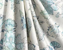 Pale Blue Curtains Blue Curtains Etsy